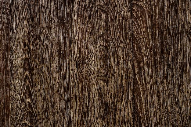 茶色の木製の床板のテクスチャ背景のクローズアップ
