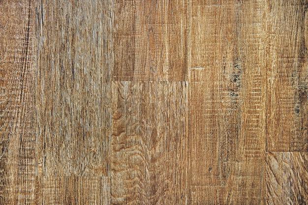 茶色の木の床のテクスチャ背景