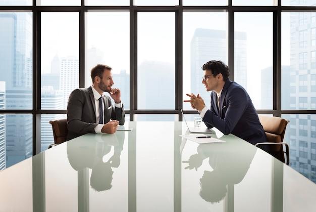 ビジネス同僚同僚の仕事のコンセプト