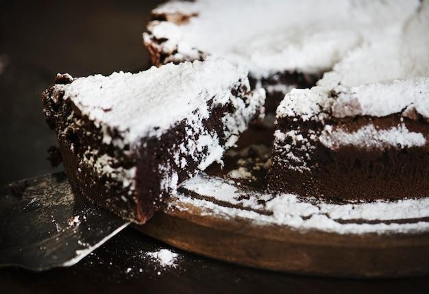 チョコレートケーキ料理写真レシピレシピ