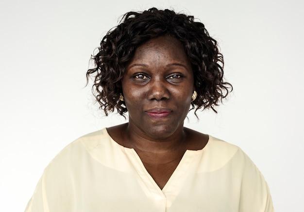 ウガンダの女性の肖像画