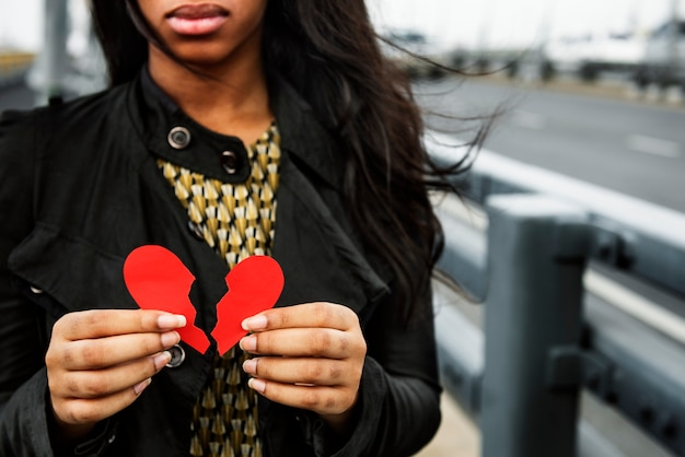 Афро-американская женщина мода стрелять
