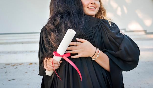 卒業お祝い成功証明書大学のコンセプト