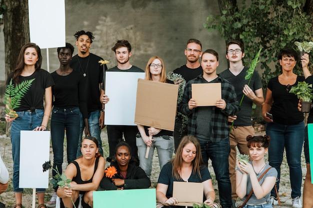 環境保護活動家たち