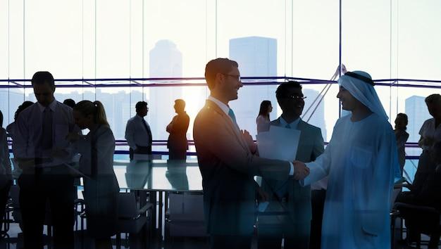 会議のビジネス人々