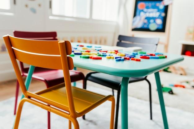 幼稚園教室のインテリアデザイン