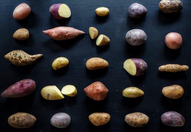 Разные сорта картофеля