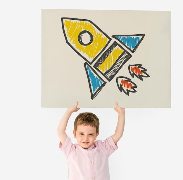 ロケット宇宙船の目標打ち上げスタートアップの成功