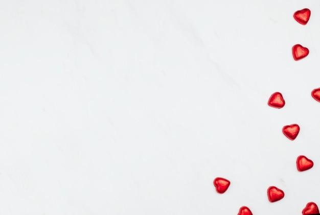 赤いチョコレートの心