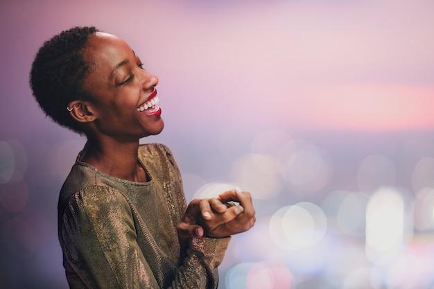 美しい黒人女性