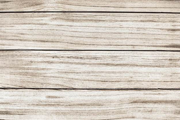 古い白い木の床板