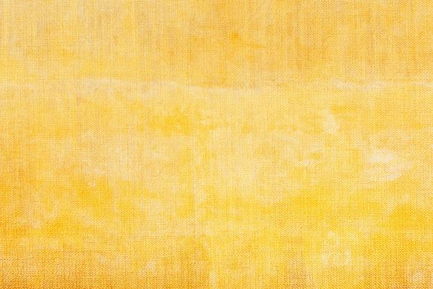 Желтый холст