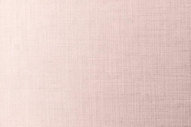 ピンクリネンの織物