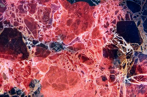 ピンクの大理石のテクスチャ背景