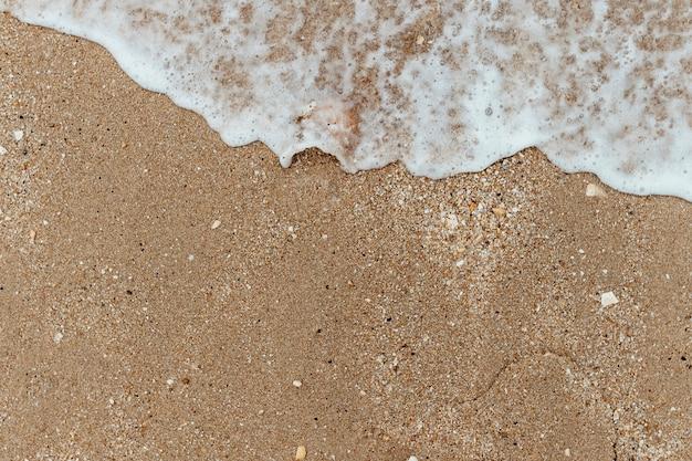 砂浜のビーチの背景