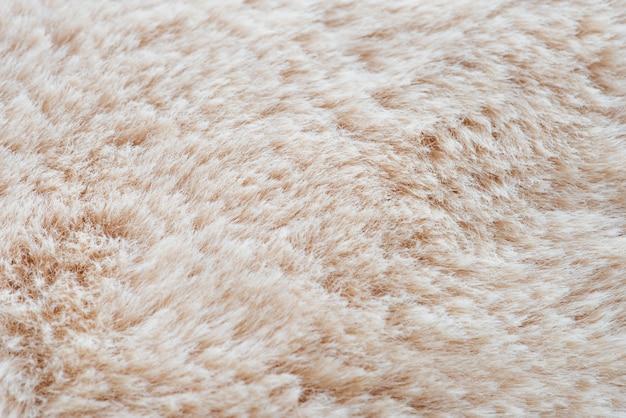 クリーム色の毛皮の背景