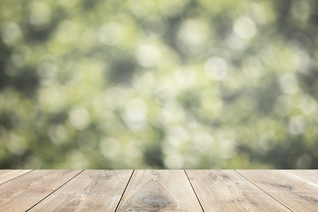 木製のテーブル製品の背景