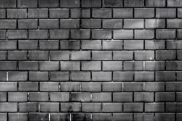 グレーのレンガの壁