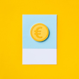 Символ евро валюты евро