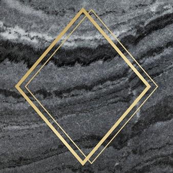 Мраморная фактурная рамка