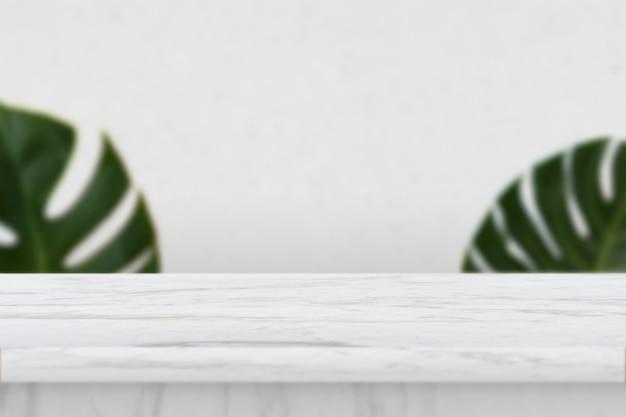大理石のテーブル製品の背景
