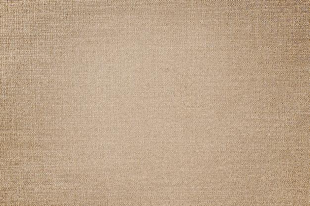 Текстура коричневой льняной ткани