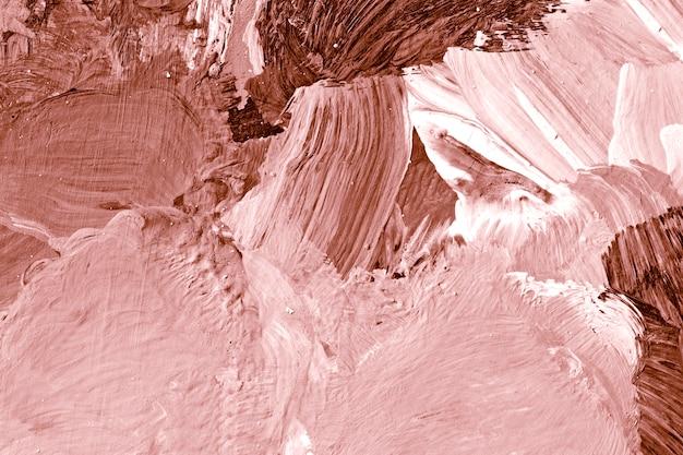 ピンクのペイントブラシストローク