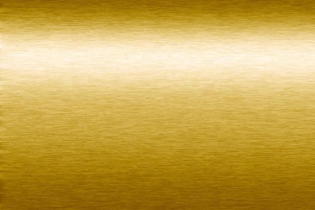 金色のメタリックのテクスチャ背景