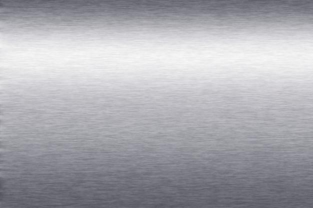 銀メタリックのテクスチャ背景