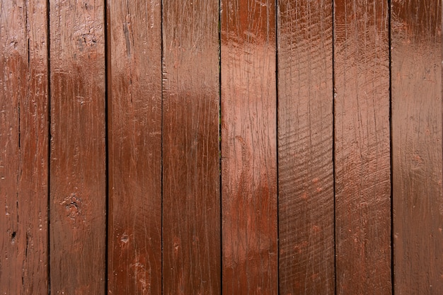 Окрашенная деревянная стена