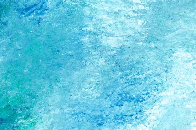 青いブラシストロークテクスチャ背景のベクトル
