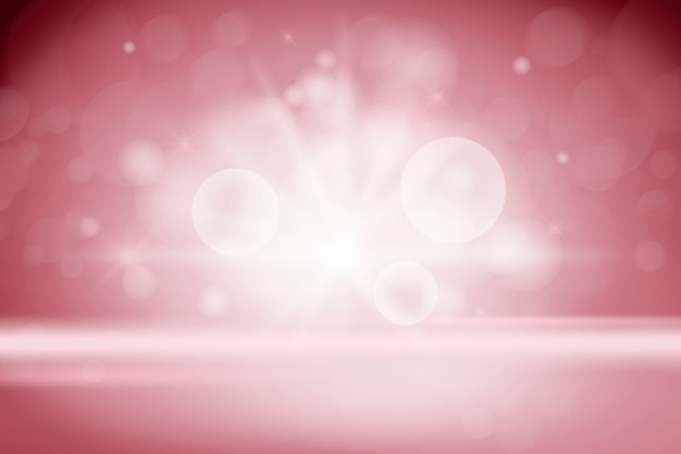 ピンぼけライト製品の背景