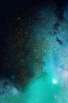 宇宙銀河の背景
