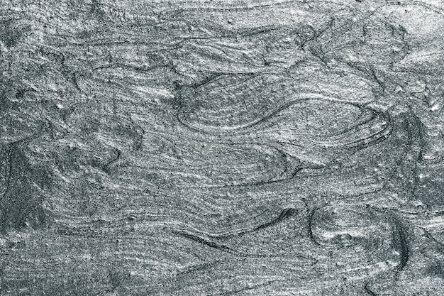 灰色の油絵の具の質感