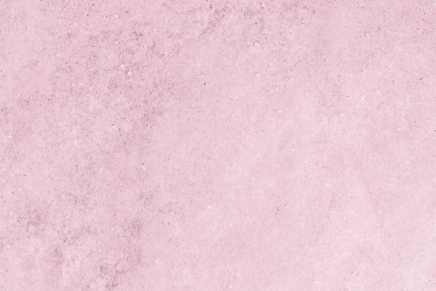 ピンクのコンクリートの質感のある壁