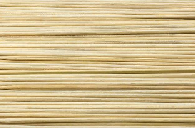 木の棒で作られた水平テクスチャ