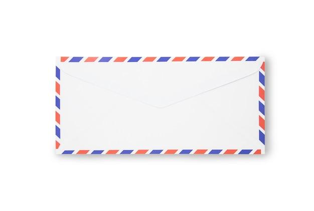 分離された空気メールの封筒を閉じる