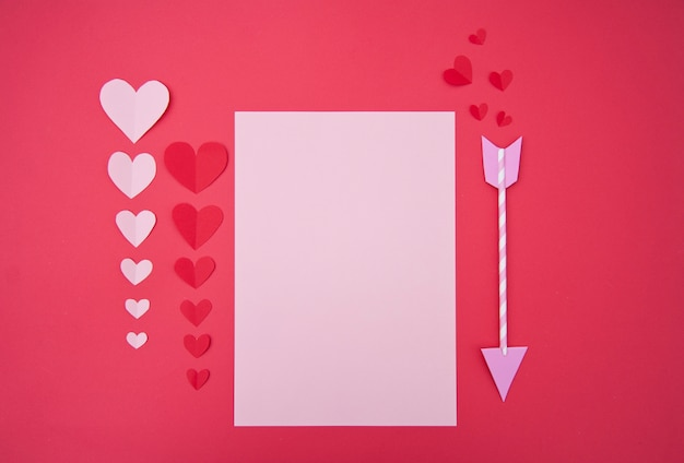 ラブレター - 聖バレンタインの概念