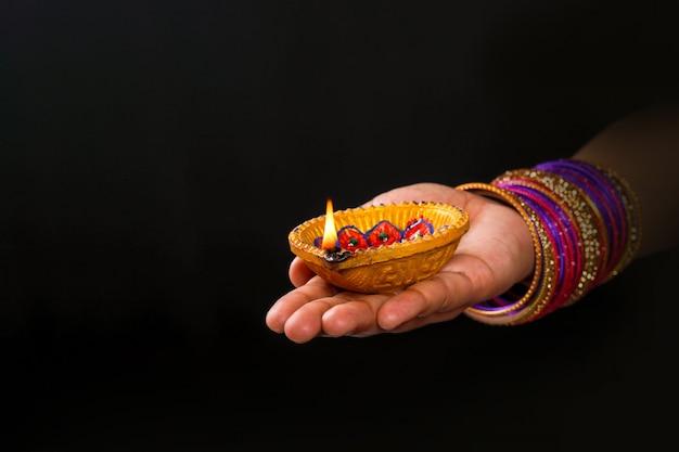 インドの祭りディワリ