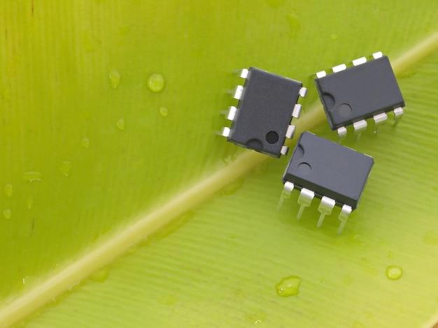 グリーン環境コンセプトの電子工業