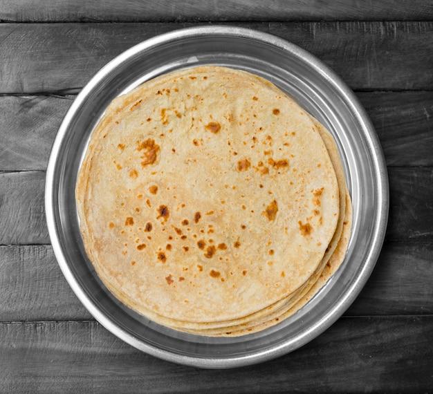 インド伝統料理チャパティ