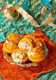 Индийская дивали сладкая пища чандракала