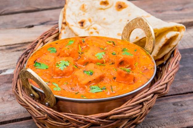 インドのおいしい料理パネラーティッカマサラ