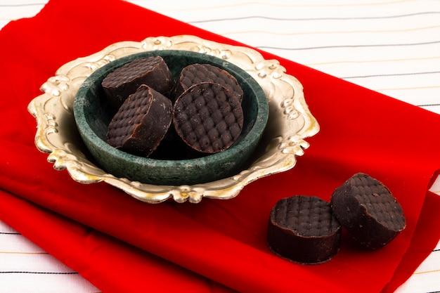 Индийская сладкая пища шоколад педа