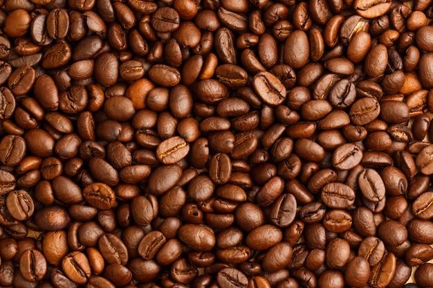 コーヒー豆の背景