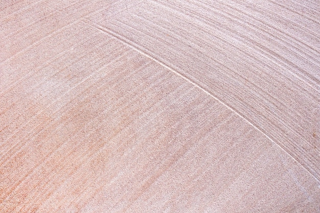古い赤い砂の石造りの壁テクスチャ背景。床