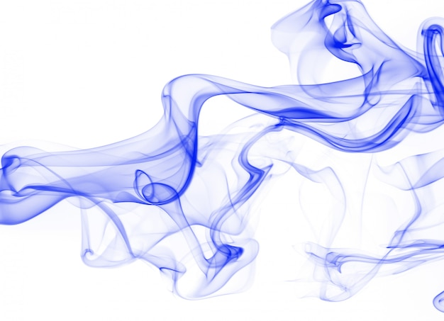 Синий дым аннотация на белом фоне
