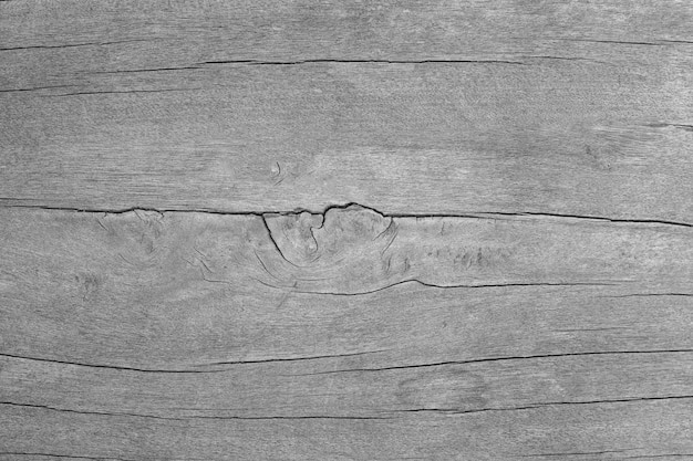 Винтажная черно-белая старая деревянная текстура природы