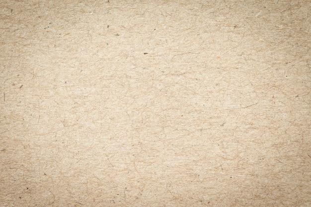 表面の茶色の紙ボックステクスチャの抽象的な背景