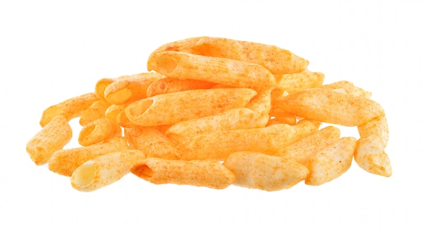 Картофельные закуски на белом столе